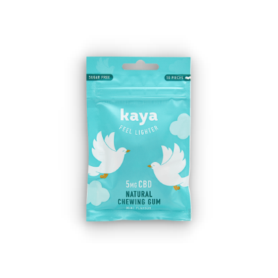 Chewing gum au CBD de la marque Kaya