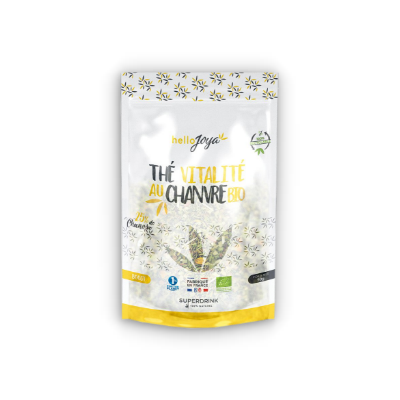 Thé vitalite au chanvre bio